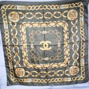 Chanel Vintage 31 Rue Cambon Silk scarf